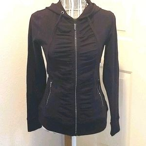 BELLDINI BLACK LIGHTWEIGHT JACKET WITH SPARKLE